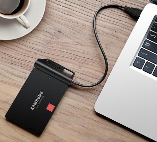 これは便利!たった850円でHDD/SSDをUSB接続にできる『Inateck SATA-USB 3.0 変換ケーブル UA1003』レビュー