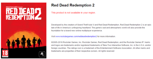 RDR2 : Red Dead Redemption 2