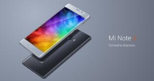 B18&B19も対応! Xiaomi 5.7インチ 両サイドエッジ 『Mi Note 2』発表! Snapdragon821+6GB RAMを搭載したハイエンド端末