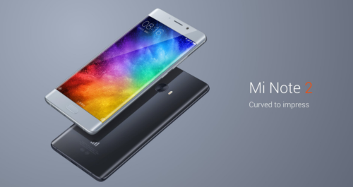 【6GB RAM版が329.99ドル!】プラチナバンド対応も!Xiaomi『Mi Note 2』5.7インチ 両サイドエッジ ! Snapdragon821+6GB RAMを搭載したハイエンド端末