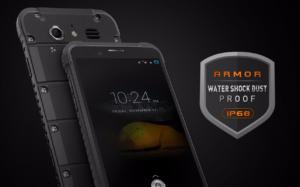 タフネス IP68防水・防塵スマホ『Ulefone ARMOR』発売! 13MPカメラ/3GB RAM/物理ボタンで使い勝手がよさげ