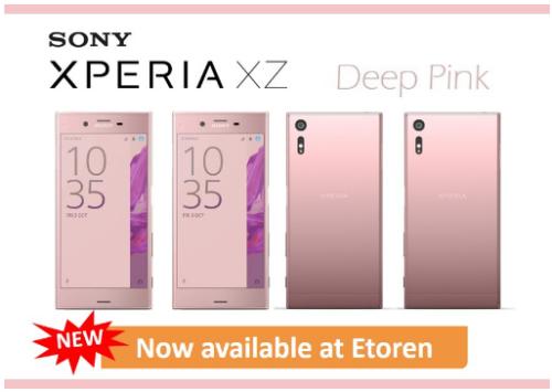 【ディープピンクが追加】ETORENでSIMフリー版『Sony Xperia XZ Dual Sim F8332』を販売中! Xperia フラッグシップが発売~