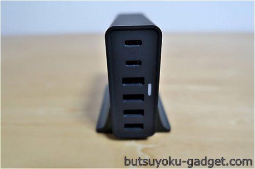 CHOETECH 55W 6ポート USB TYPE-C 急速充電器