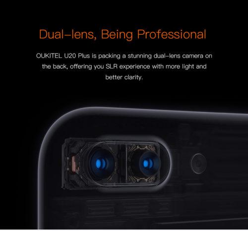 デュアルレンズカメラ搭載でたった1万円! 5.5インチフルHD『OUKITEL U20 Plus』が発売開始!