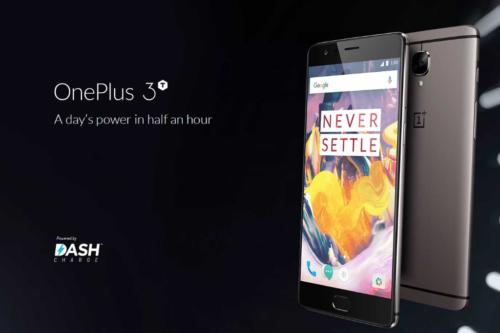 【クーポンで399.99ドル】『OnePlus 3T』最強スペックで帰ってきた! スナドラ821+6GB RAM+5.5インチフルHD+カメラも強化されて5万円台!