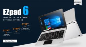 Jumper EZpad 6が20ドル安く買える! 『GearBest Jumper EZpad 6早期購入プロモーション』実施中