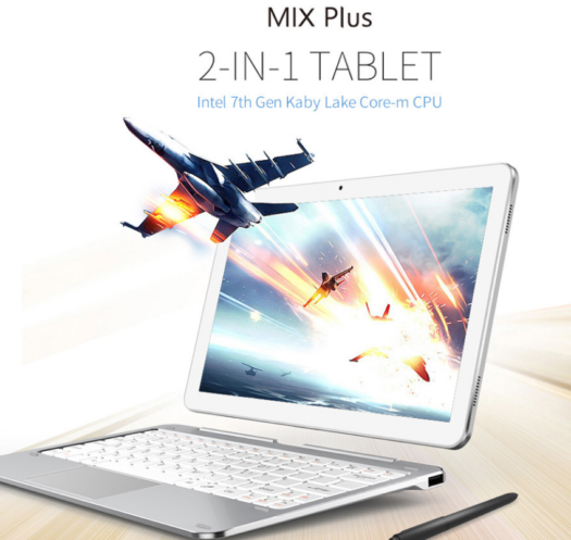 【334.99ドル】Cubeからワコムデジタイザ+KabyLake 2in1タブレット登場! 『Cube Mix Plus』は10.6インチで4GB RAM + 128GB SSD搭載