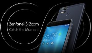 5000mAhバッテリ+12倍ズームデュアルレンズカメラ搭載の5.5インチフルHDスマホ『ASUS ZenFone 3 Zoom』発表!