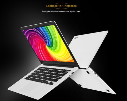 【クーポンで229.99ドル】ベゼルが細くてIPS液晶でCeleron搭載! 14.1インチのCHUWI LapBookはApollo LakeのCeleron搭載でパワフル