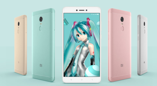 Xiaomi Redmi Note 4X発表。Snapdragon625を搭載し、999元(約1.7万円)で発売! 初音ミクとコラボモデルも!