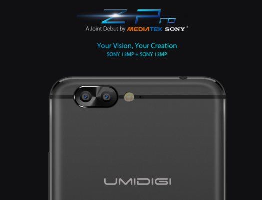 【40ドルOFFクーポン追加】UMiデュアルレンズカメラスマホ『UMi Z PRO』発売! 後からフォーカスも変えられる!5.5インチフルHD / Helio X27を搭載