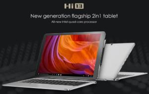 【クーポン追加】驚愕の3K解像度 13.5インチでディスプレイ『CHUWI Hi13』発売!4スピーカー/Celeron搭載2in1タブレット