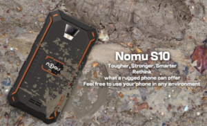 169gと軽くてデザインがいい防水防塵タフネススマホ『Nomu S20』が発売中~3GB RAM/32GB ROMで基本スペックも高め