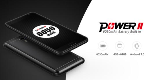 あの大容量スマホが帰ってきた! 6050mAhバッテリー搭載『Ulefone Power 2』が発売!