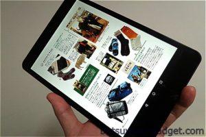 7.85インチのiPad miniクローン『FNF Ifive Mini 4S』でベンチマークや電子書籍リーダーとして使ってみた
