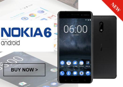 NOKIAの5.5インチAndroid端末「Nokia6」がETORENで発売! 低価格だがデュアルスピーカーでDolby Atmos対応