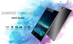 XPERIAライクなデザインの中華スマホ『MAZE Blade』が発売中~デザイン優先の端末で130ドルはお買い得