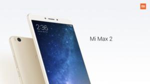 6.44インチ『Xiaomi Mi Max2』発表~スナドラ625/バッテリー5300mAhにアップで地道に改善