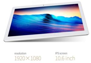 【クーポンで95.99ドル!】MediaTek採用の10.6インチフルHD Androidタブレット『CUBE iPlay10』が1.5万円台とお買い得
