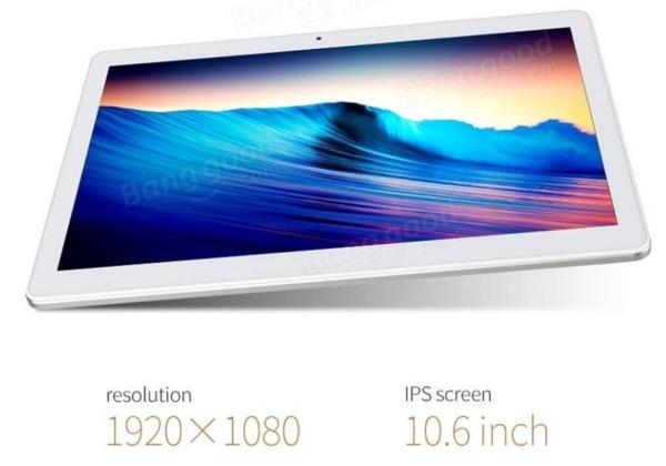 【109.99ドル!】MediaTek採用の10.6インチフルHD Androidタブレット『CUBE iPlay10』が1.5万円台とお買い得