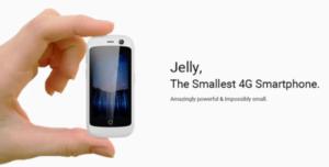 【日本の技適も取得】世界最小の2.45インチスマホ『Jelly(Jelly Pro)』に出資してみた! わずか79ドル~
