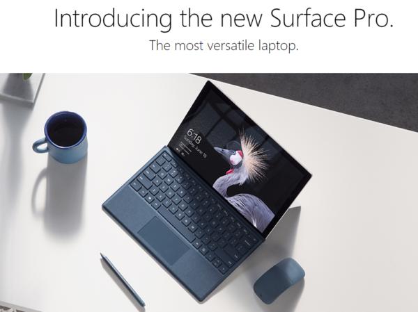 バッテリー駆動が1.5倍の13.5時間!『New Surface Pro』発表~見た目は変わらないが単なるマイナーチェンジではない進化