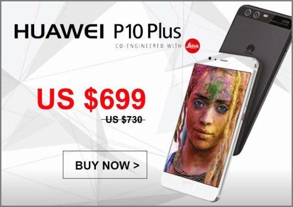 【128GB版が699ドル~】SIMフリー HUAWEI P10 Plus 6GB RAM/ 128GB ROM版がETORENで発売!