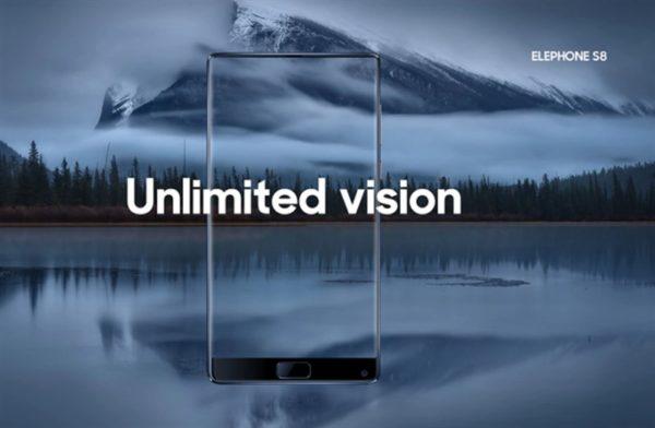 【クーポンで239.99ドル】画面占有率 92.4%! 3面ベゼルレス『Elephone S8』が発売! 2K 6インチディスプレイ、Helio X25とハイスペック