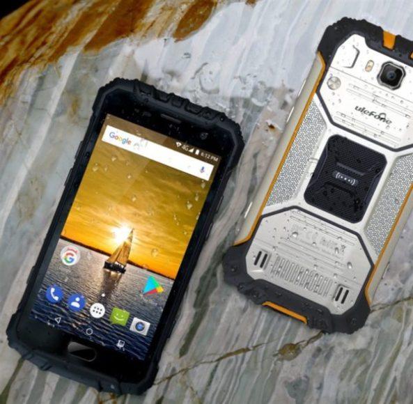 【クーポンで217.49ドル!】こんなタフネススマホ欲しかった!『Ulefone ARMOR 2』発売! docomo B19 4G対応、6GB RAMなど凄すぎる
