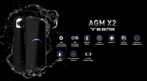 スナドラ653+docomo LTE B19対応タフネススマホ『AGM X2』がなかなかいい! デュアルカメラ/IP68防水防塵対応