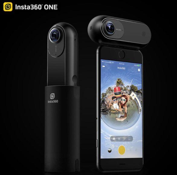 バレットタイム撮影ができる「Insta360 ONE」が299ドルと国内価格より1万円程度安く買えるぞ