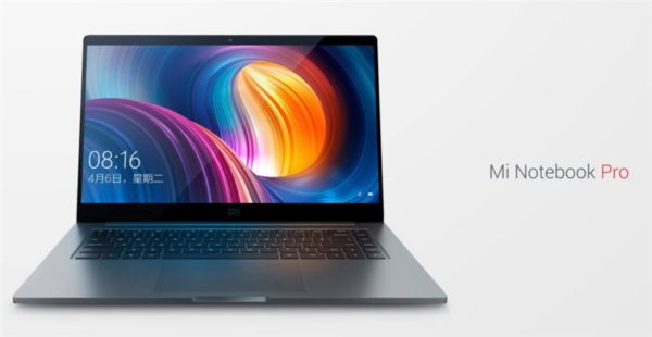 Xiaomiが作ったMacBook Pro対抗PC『Mi Notebook Pro』発表! 15.6インチフルHDで2kg切り