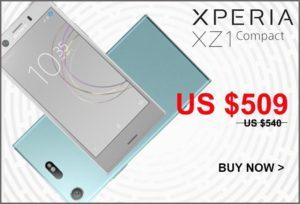 【セールで509ドル】意外と安いコンパクトモンスター! 『XPERIA XZ1  Compact』SIMフリー版がETOREN/Expansysで発売~