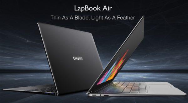 14.1インチ薄型アルミニウム合金ボディ『CHUWI LapBook Air』発売! 8GB RAM/M.2スロット搭載