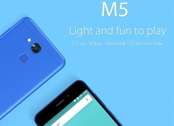 iPhone8より薄い6.9mmのスマートフォン『Vernee M5』が発売! わずか120ドルと格安~