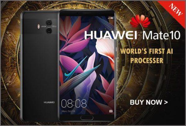5.9インチベゼルレス2Kディスプレイ『HUAWEI Mate 10 ALP-L29』がETORENで発売! 679ドル~と意外に安い!