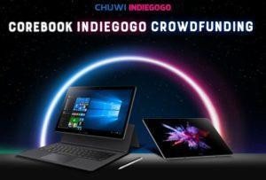 13.3インチ2in1タブレット『CHUWI CoreBook』がIndiegogoクラウドファンディング事前キャンペーン中
