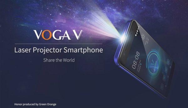5.5インチスマホにプロジェクターを内蔵した『VOGA V』が発売! この発想を褒めたい
