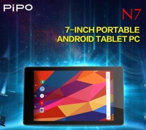 貴重な片手サイズタブレット~7インチWUXGA Androidタブレット『PiPO N7』が発売!