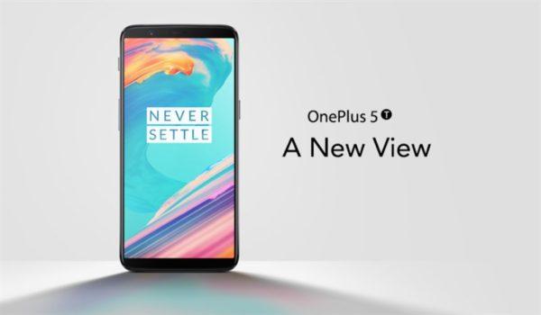 【クーポンで499.99ドル!】ハイスペックハイコスパ『OnePlus5T』発売! 縦長ディスプレイでLTE B19対応! OnePlus5とスペック比較も