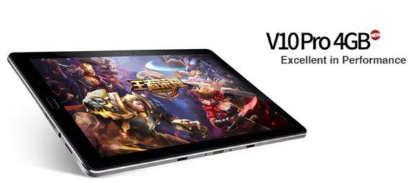 【64GB ROM版クーポン追加】200ドルアンダーでミドルレンジ 10.1インチ2K解像度タブレット『Onda V10 Pro』が発売!