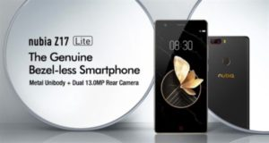 【クーポンで259.99ドル】『ZTE Nubia Z17 Lite』発売~Z17の廉価版だが余裕のあるミドルスペックでコスパが高い