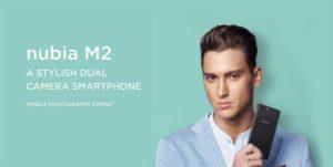 【クーポン追加】『ZTE nubia M2』が発売!スナドラ625+AMOLED+ダブルレンズカメラで160ドルとハイコスパ!