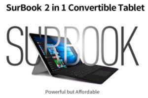 【クーポンで399.99ドル】12.3インチSurface Proクローン『CHUWI SurBook』発売中~質感を高めて本家にも負けない品質はあるか?