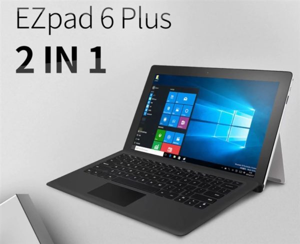 【クーポンで254.99ドル】『Jumper EZpad 6 Plus』が発売! Surfaceタイプ11.6インチ2in1タブレット