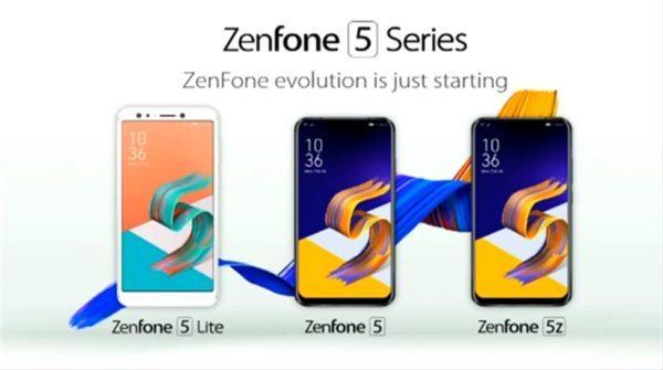 ほぼiPhoneXデザインの新しいZenFone5シリーズ 3機種発表! 3機種の違いまとめ