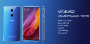 5.99インチフルHD+のミドル機『AllCalll MIX2』発売! 200ドル前後とハイコスパスマホ