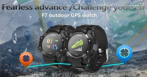 単体でGPS対応のスマートウォッチ『DTNO.1 F7』が発売! GPS使用16時間/通常使用20日間