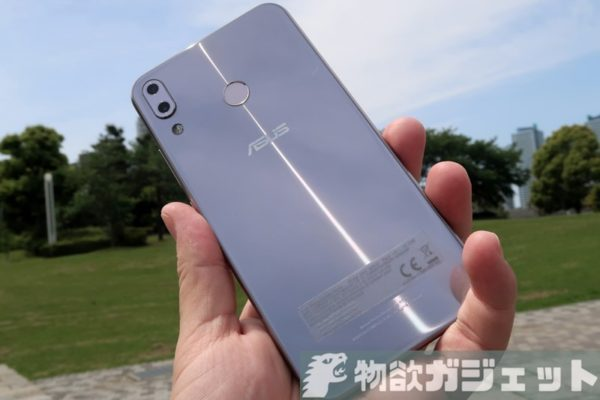 【実機レビュー後編】ノッチデザイン『ZenFone5 ZE620KL』のカメラ・ベンチマークの実力は?