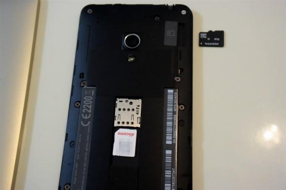 ZenFone5 SIM SD
